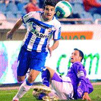 La selección sub 21 se fija en el Deportivo