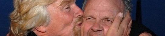 Steve Fossett y Richard Branson