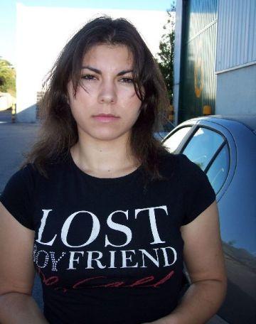 Cristina, madre del niño raptado por su padre