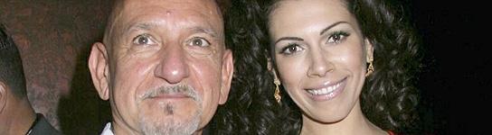 Ben Kingsley  y Daniela Barbosa