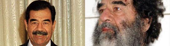 Sadam Husein, antes y después