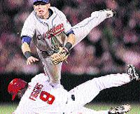 Volando en el béisbol
