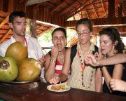Paella de cocodrilo en Cuba