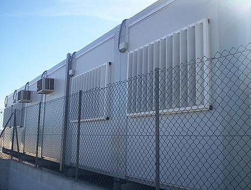 Barracones prefabricados para estudiantes