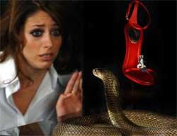 Una cobra en Harrods