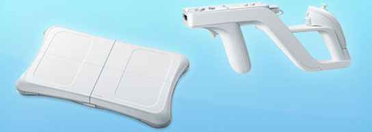 Los accesorios oficiales de la Wii