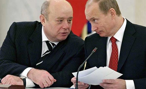 Putin y Fradkov