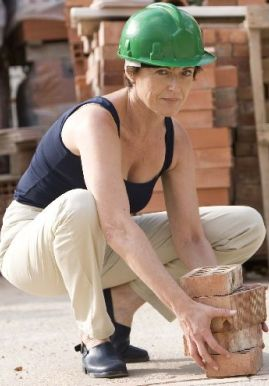 Amparo Broseta, participante de un curso de chapuzas domésticas.