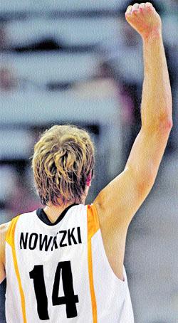 Primer examen decisivo, contra la Alemania de Dirk Nowitzki