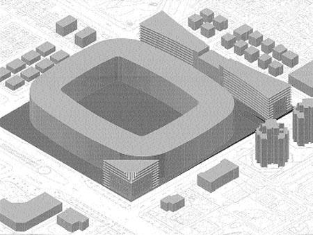 Deporte, compras y trabajo junto al estadio del Betis