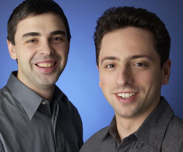 Los fundadores de Google