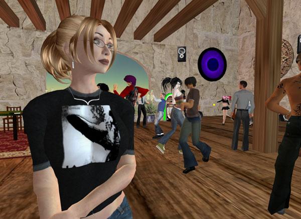 Huelga en Second Life