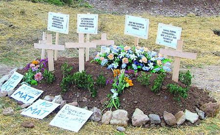 Crean un cementerio de Muy Alta Tensión