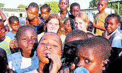 Lección de madurez en Mozambique
