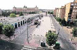 La Rondilla pide cubrir sus plazas con marquesinas