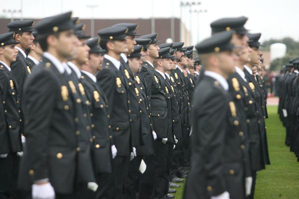 Comienza el curso en la Escuela de Policía
