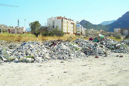 La basura, de un pueblo a otro