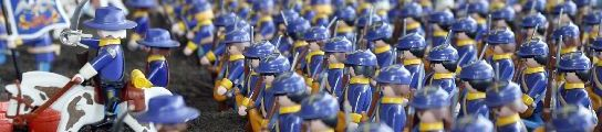 3.200 cliks de Playmobil en Barcelona (EFE)