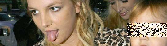 Britney y su hijo