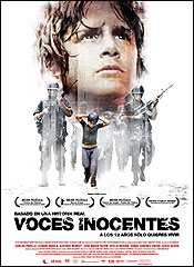 Voces inocentes - Cartel
