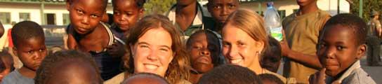 Clara y Sandra, Rumbo al Sur, Mozambique