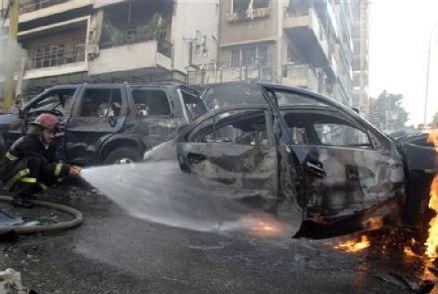 Atentado con coche-bomba en Beirut (Reuters)