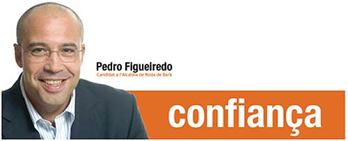 Cartel electoral del PP en Roda de Bará