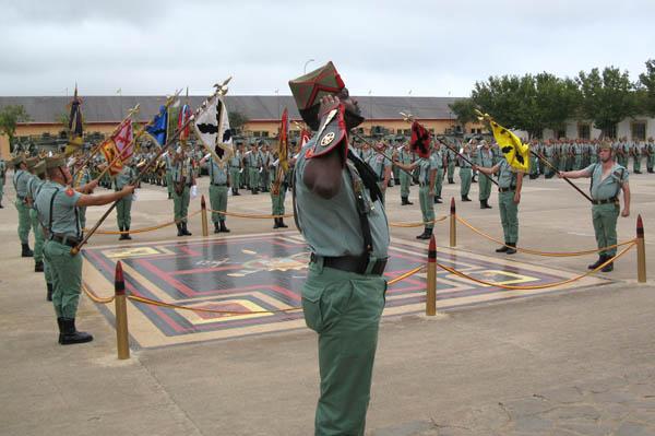 El Tercio de Melilla celebró los 87 años de La Legión