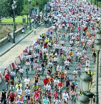 Las bicis toman la ciudad