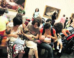 Tetada protesta en el Museo del Prado