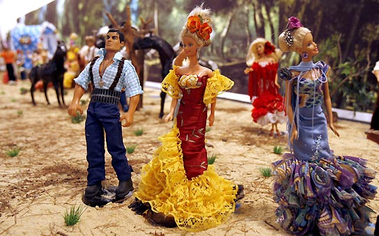 Ken y Barbie 'made in Spain'