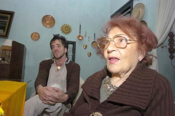 Se casaron a pesar de los 58 años de diferencia.