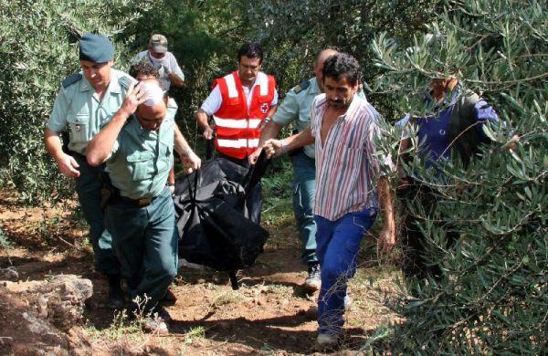 Rescate cuerpo en Jaén