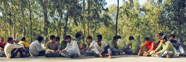 Inmigrantes de Bangladesh en ceuta