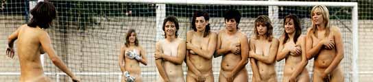 Las jugadoras del AD Torrejón posan para la revista Interviú