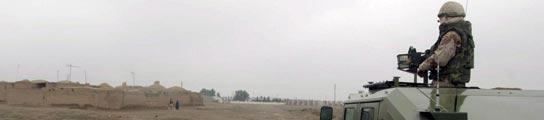 Soldado español patrullando en Afganistán