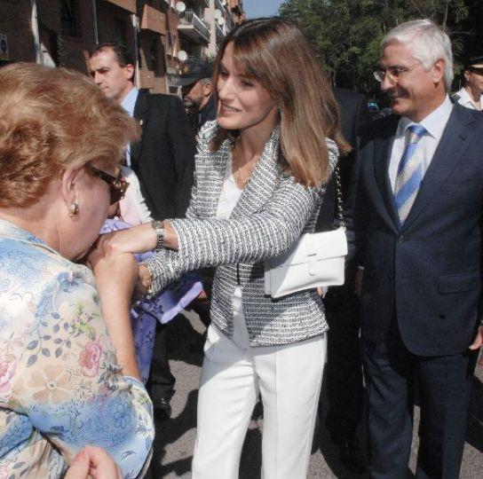 La Princesa saluda en Guadalajara