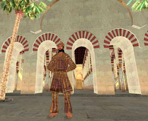 Mezquita en Second Life