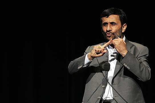 Ahmadineyad acusa a EE UU