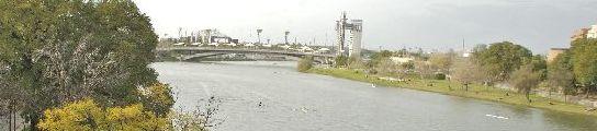 El Guadalquivir en la Cartuja