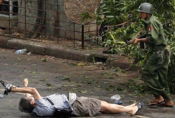 El fotógrafo japonés asesinado por el Ejército