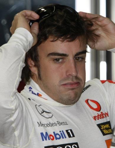 Alonso suspira en Japón