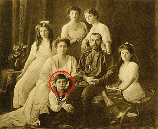 La familia del zar Nicolás II