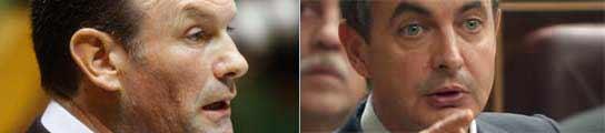 Zapatero e Ibarretxe.