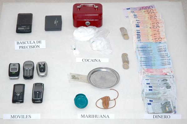 Detención de doce personas por tráfico de drogas