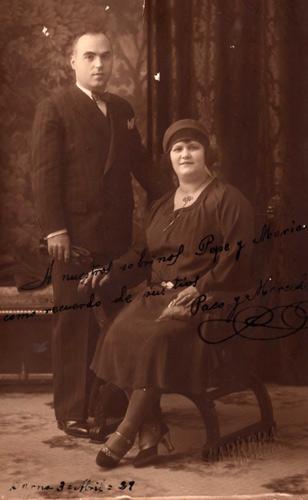 Francisco Codoñer i la seva dona