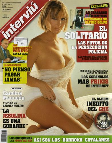 La Ex De César El Novio De Jesulina Desnuda En Interviú