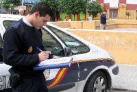 Un patrullero de la Policía