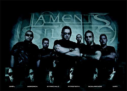 El grupo de música metal Laments of Silence