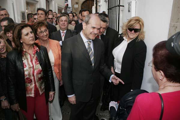Francisco Zori y Manuel Chaves